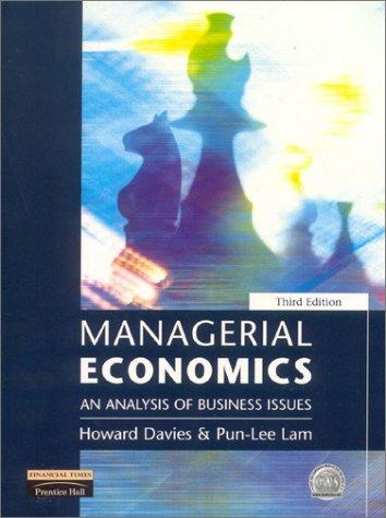 Download Managerial economics