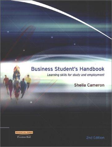 Business Student's Handbook
