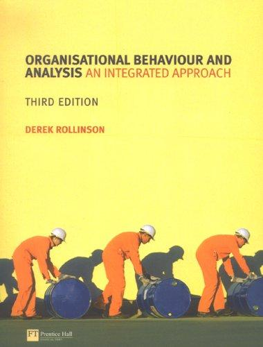 Download Organisational Behaviour and Analysis