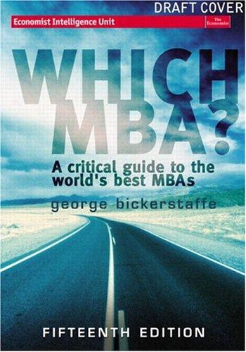 Download Which MBA?