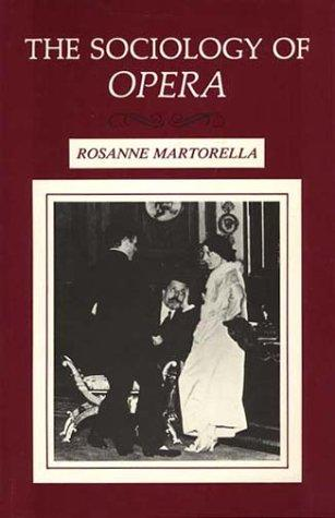 The Sociology of Opera (Open Library)