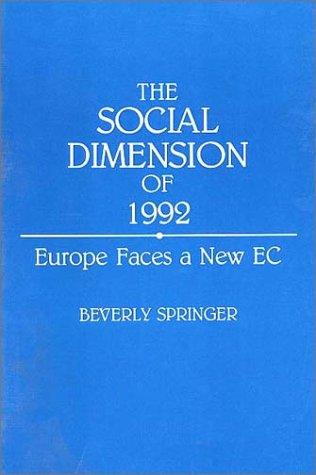 Download The social dimension of 1992