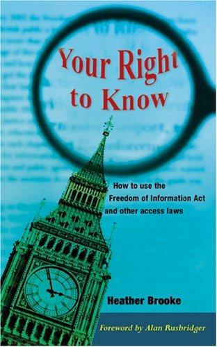 Download Your Right to Know
