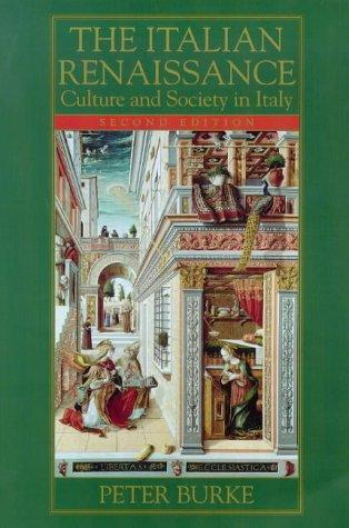 The Italian Renaissance by Peter Burke