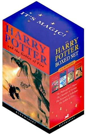 Harry Potter Boxed Set (Volumes 1-4) by JK Rowlings
