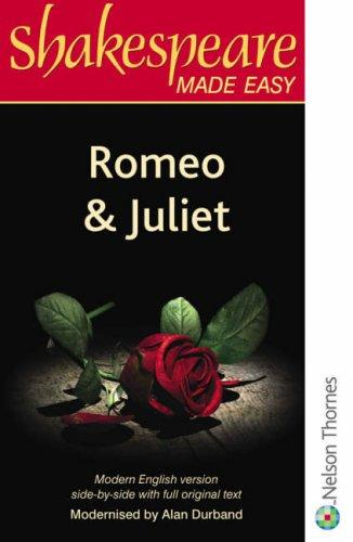 Download Romeo and Juliet (Shakespeare Made Easy; Parallel Edition)