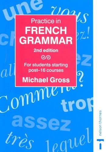 Download Practice in French Grammar