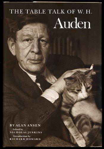 The table talk of W.H. Auden