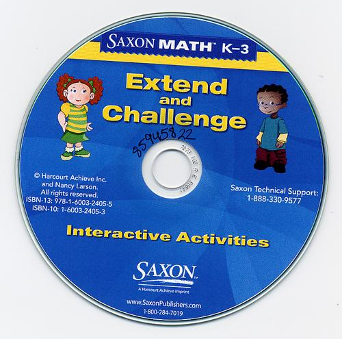 Saxon Math K-3 by Harcourt Achieve Inc. and Nancy Larson