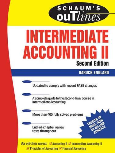 Intermediate Accounting II