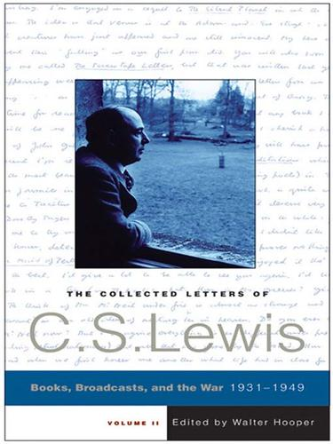Download The Collected Letters of C. S. Lewis, Volume 2