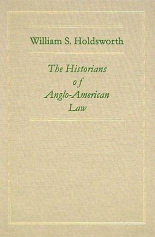 Download The historians of Anglo-American law