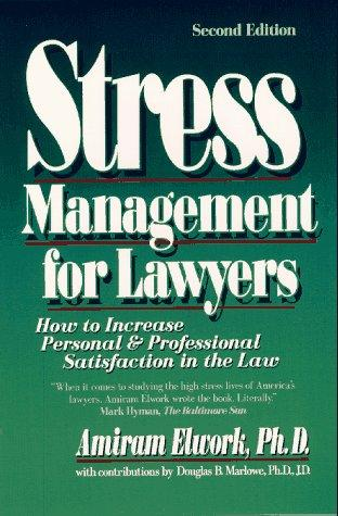 Download Stress management for lawyers
