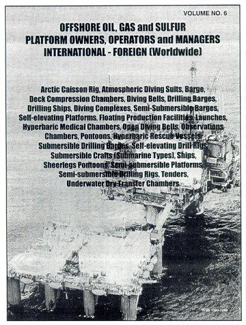 Offshore oil platform & support vessels, foreign