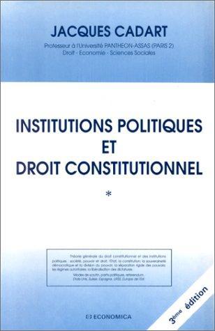 Download Institutions politiques et droit constitutionnel