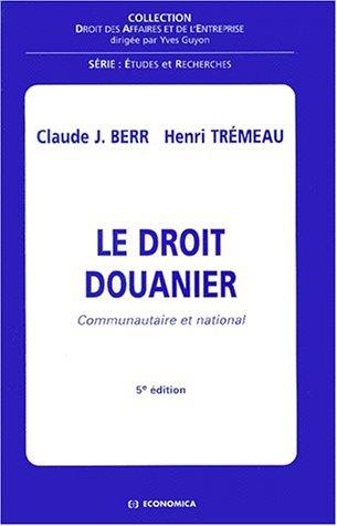 Download Le droit douanier