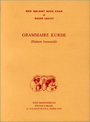 Download Grammaire kurde