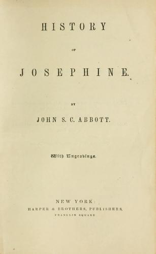 Download History of Josephine