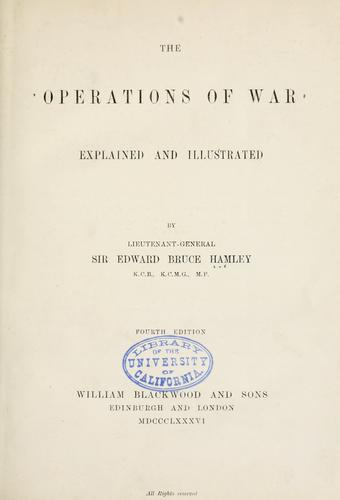 Download The operations of war explained and illustrated
