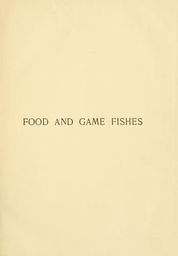 Download American food and game fishes