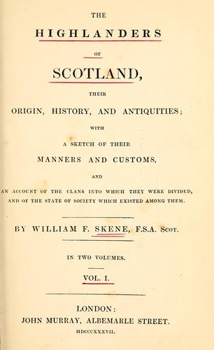 Download The Highlanders of Scotland