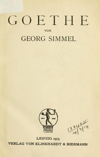 Download Goethe.