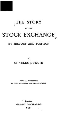 The story of the Stock exchange