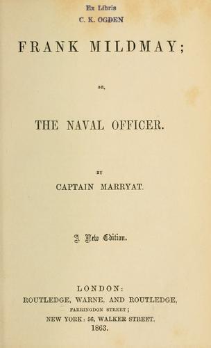 Download Frank Mildmay; or, The naval officer.