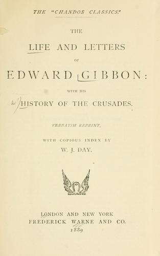 Download The  life and letters of Edward Gibbon