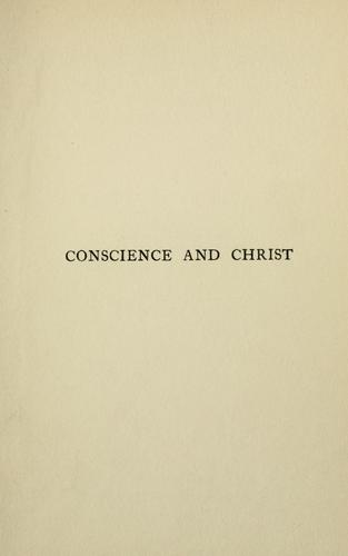 Download Conscience & Christ