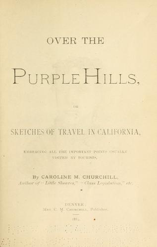 Download Over the purple hills