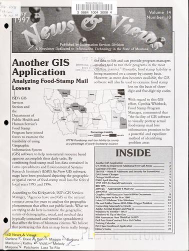 ISD news and views