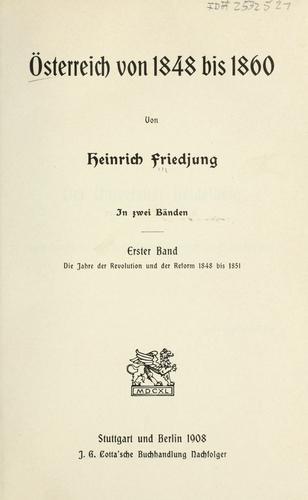 Download Österreich von 1848 bis 1860