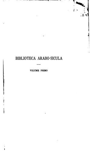 Biblioteca arabo-sicula