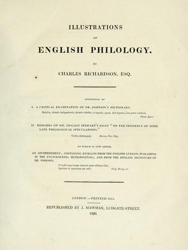 Download Illustrations of English philology