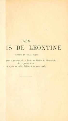 Les maris de Léontine