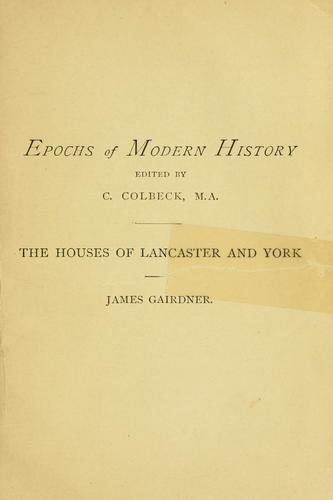 Download Houses of Lancaster and York