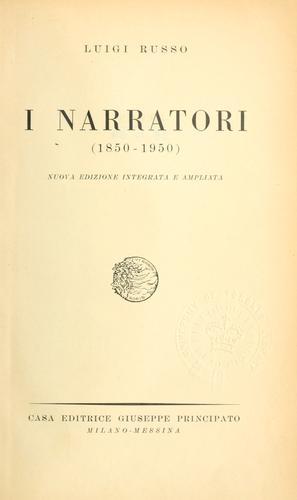 Download I narratori, 1850-1950.