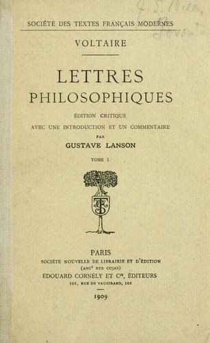 Download Lettres philosophiques.