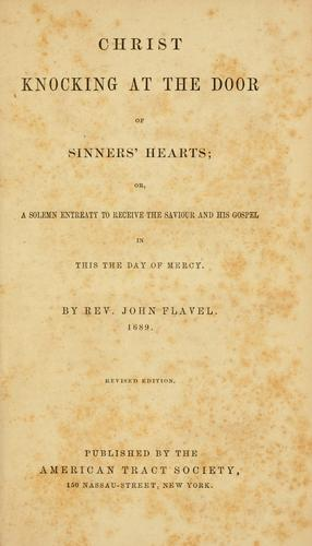 Download Christ knocking at the door of sinners' hearts