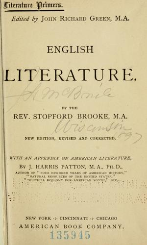 Download English literature from A.D. 670 to A.D. 1832