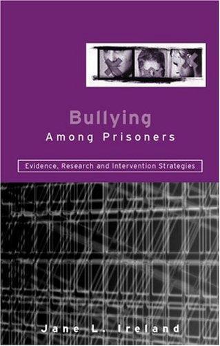 Download Bullying Among Prisoners