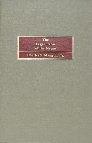 Download The legal status of the Negro