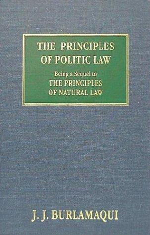 The principles of politic law