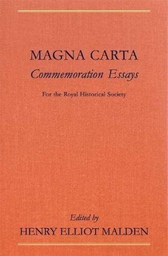 Download Magna Carta Commemoration Essays