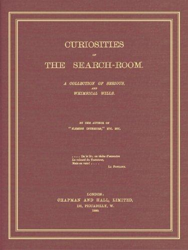 Curiosities of the search-room