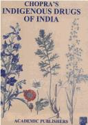 Download Chopra's Indigenous drugs of India.
