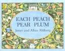 Download Each peach pear plum