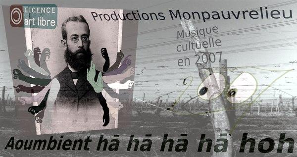 """[pochette: """"Aoumbient Hā Hā Hā Hā Hoh"""" ambient expérimental  par Ferdinand Raillefer]"""