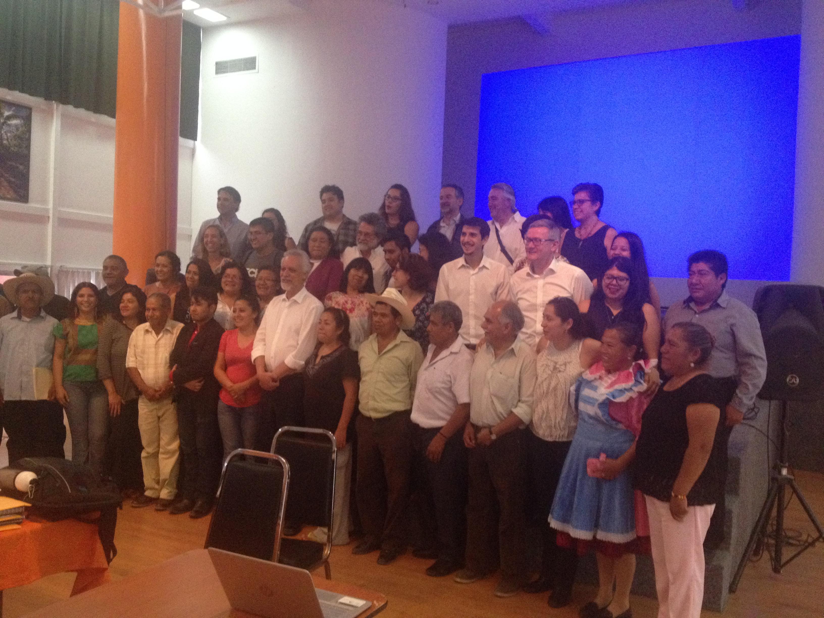 Vecinos de Tlaxcalancingo y San Andrés Cholula con Relator de la ONU sobre el Derecho al Agua y Saneamiento